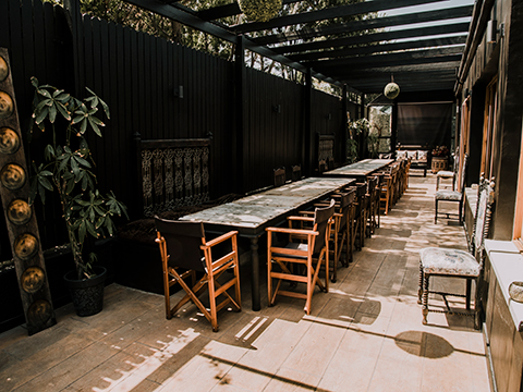 Lodge Paphos restaurant steakhouse seafood outdoor terrace